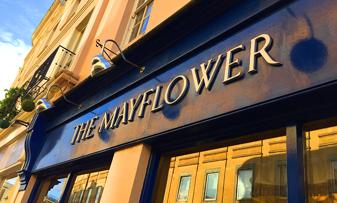 The MayflowerRestaurant, Cheltenham.